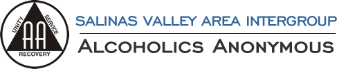 Salinas Valley Area Intergroup of Alcoholics Anonymous Logo